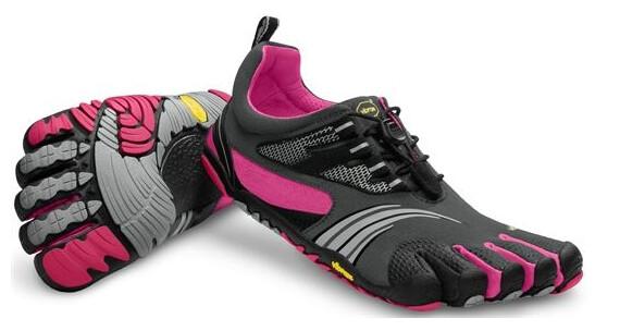 FiveFingers W's KMD Sport LS Grey/Black/Pink (14W3603)